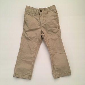 Old Navy 2T khaki skinny pants